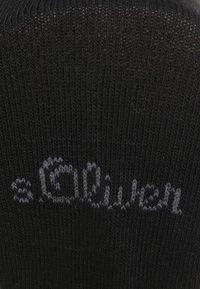 s.Oliver - 8 PACK - Socks - black - 2