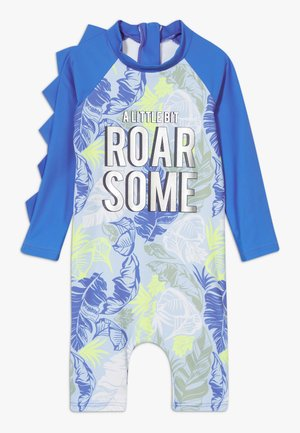 ROAR-SOME SUNSAFE ALL IN ONE - Swimsuit - blue
