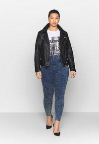Simply Be - SHAPER JEGGING - Jeans Skinny Fit - blue acid - 1