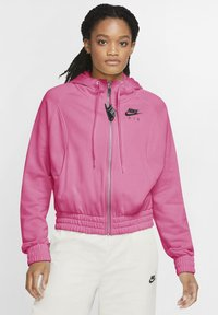 Nike Sportswear - Sudadera con cremallera - pinksicle/black - 0