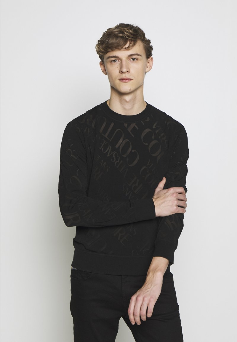 Versace Jeans Couture - Sweter - black