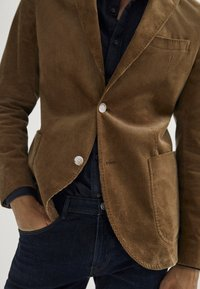 Massimo Dutti - Blazer jacket - brown - 4