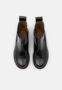 See by Chloé - MALLORY BOOTIE - Kotníkové boty - black - 4