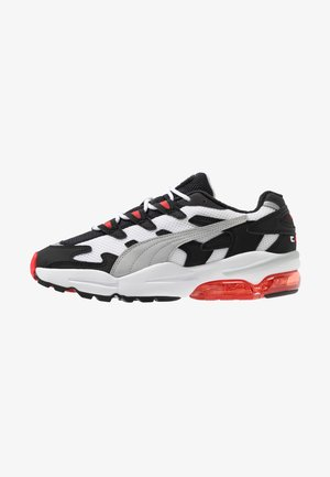 Sneakers laag - black/high risk red