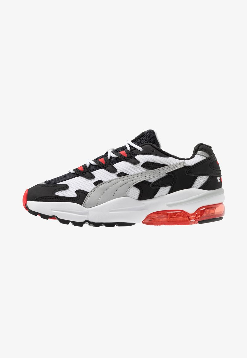 Puma - Trainers - black/high risk red