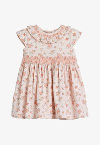 Next - PINK FLORAL PROM DRESS AND CARDIGAN SET (0MTHS-3YRS) - Cardigan - pink - 1