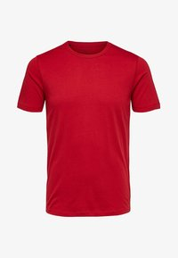 Selected Homme - SHDTHEPERFECT - T-paita - red - 4