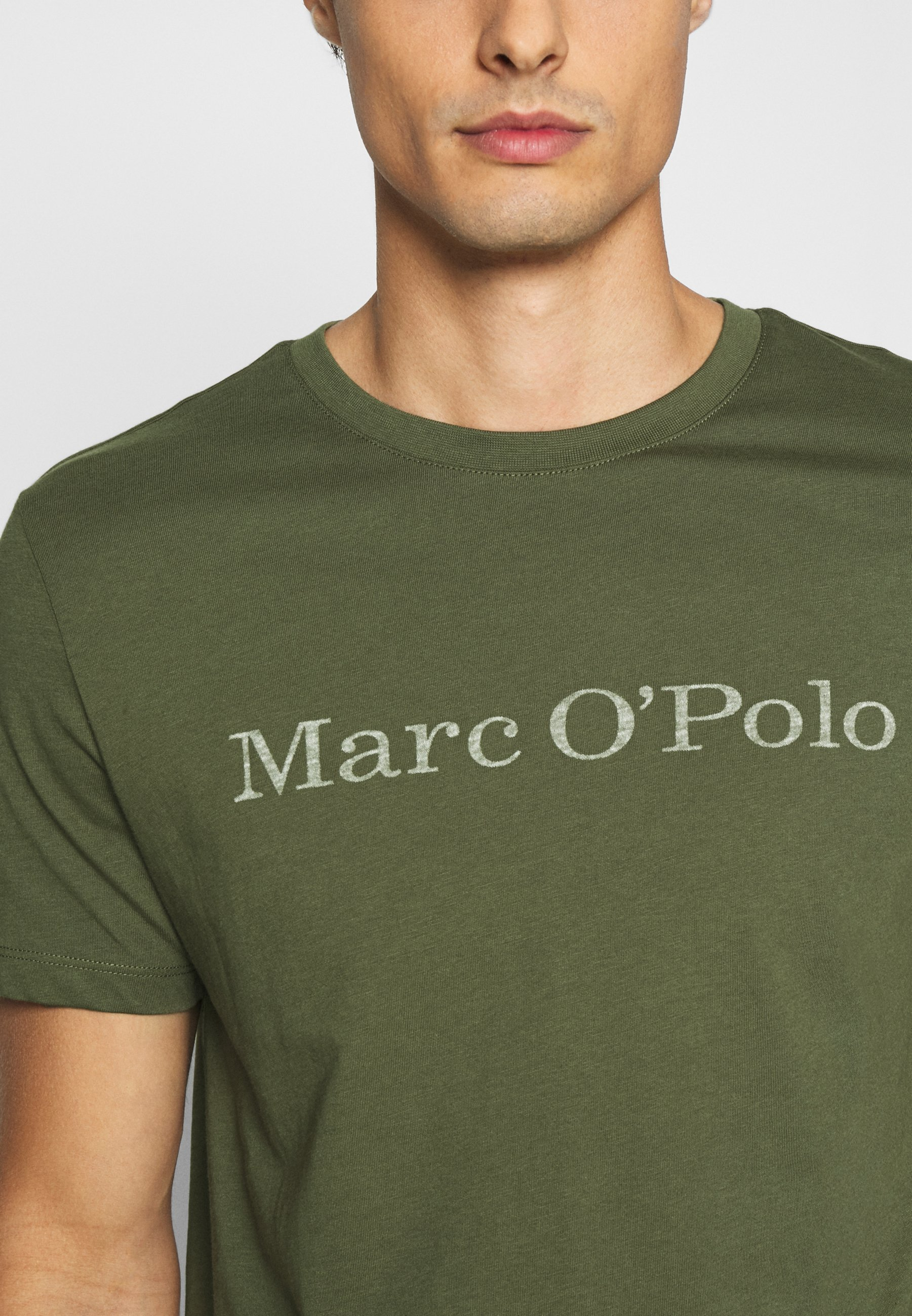 Marc O'polo T-shirts Med Print - Cypress/oliven