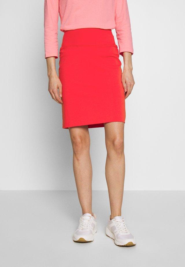 PENNY SKIRT - Pencil skirt - high risk red