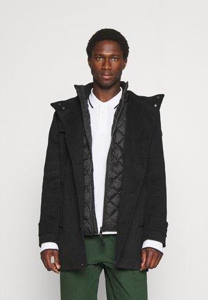 COAT 2 IN 1 - Short coat - black