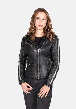 FINAL RALLY-FN - Leren jas - black