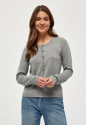 NEW LAURA - Chaqueta de punto - light grey melange