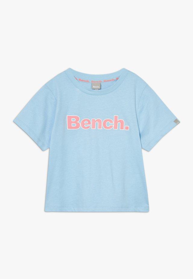 KATRIN - Print T-shirt - light blue