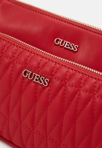 Guess - ARIE DOUBLE POUCH CROSSBODY - Across body bag - red - 7