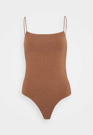 BARE BODYSUIT - Top - light brown