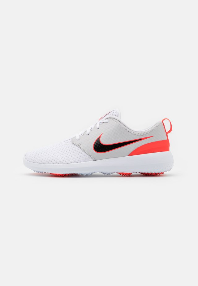 ROSHE G - Golfskor - white/black/neutral grey/infrared