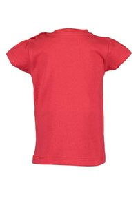 Blue Seven - LIFE IS FLOWERFUL - Print T-shirt - red - 4