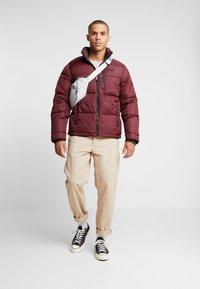 Hollister Co. - PUFFER MOCK BURG - Winter jacket - burgundy - 1