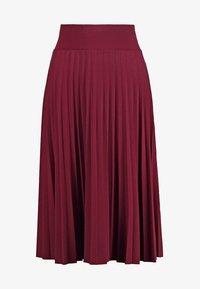 Anna Field - A-line skirt - burgundy - 5