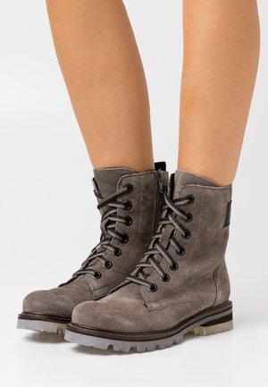 BOOTS - Snørestøvletter - dark grey
