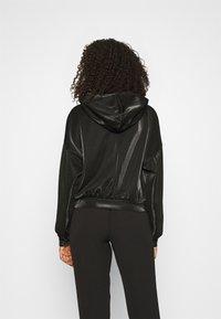ONLY - ONLCARMEL ZIP HOOD - Zip-up hoodie - black - 2