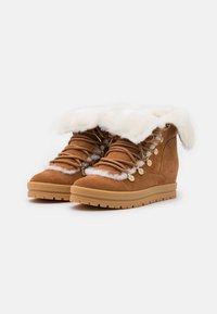 Marc Cain - Lace-up ankle boots - cognac - 2