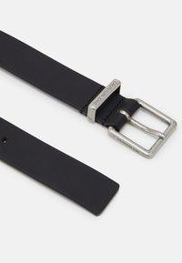 Calvin Klein Jeans - LOOP BELT - Pásek - black - 1