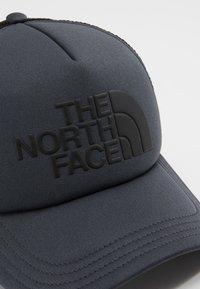 The North Face - LOGO TRUCKER UNISEX - Kšiltovka - asphalt grey/black - 5