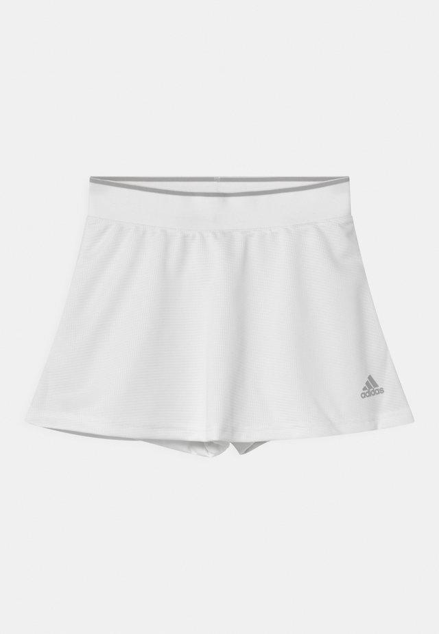 CLUB SKIRT - Urheiluhame - white/grey two
