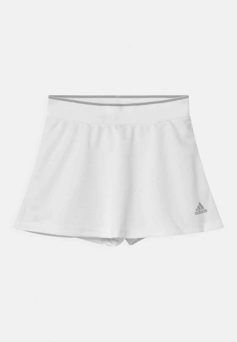 adidas Performance - CLUB SKIRT - Sports skirt - white/grey two