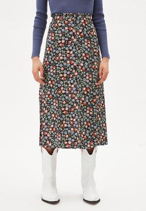 MADALINAA  MIMOSE - A-line skirt - black