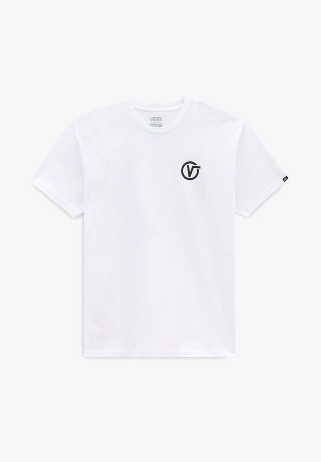 MN PIXELATED MELT ZL S/S - T-shirt con stampa - white