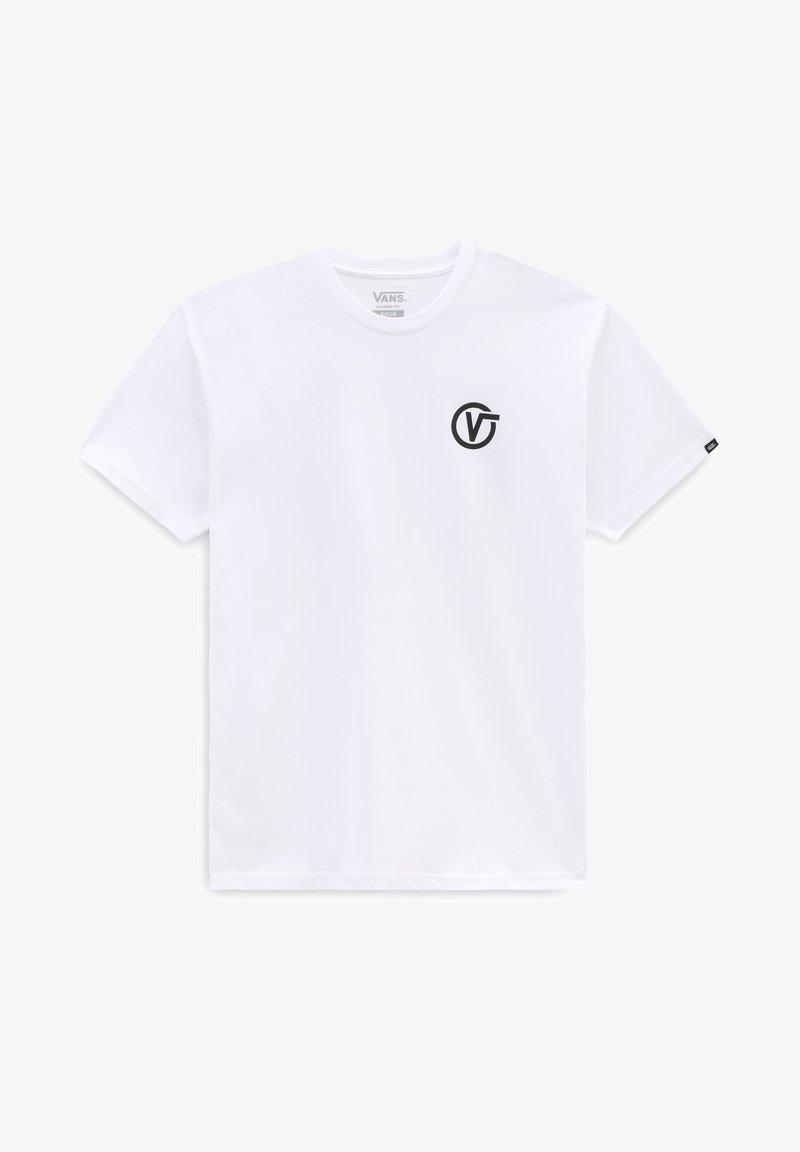 Vans - MN PIXELATED MELT ZL S/S - Print T-shirt - white