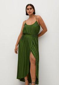 Violeta by Mango - RITA - Day dress - olivengrün - 4
