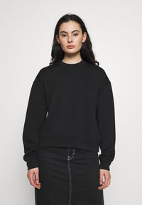 Samsøe Samsøe - KELSEY CREW NECK - Sweatshirt - black - 0