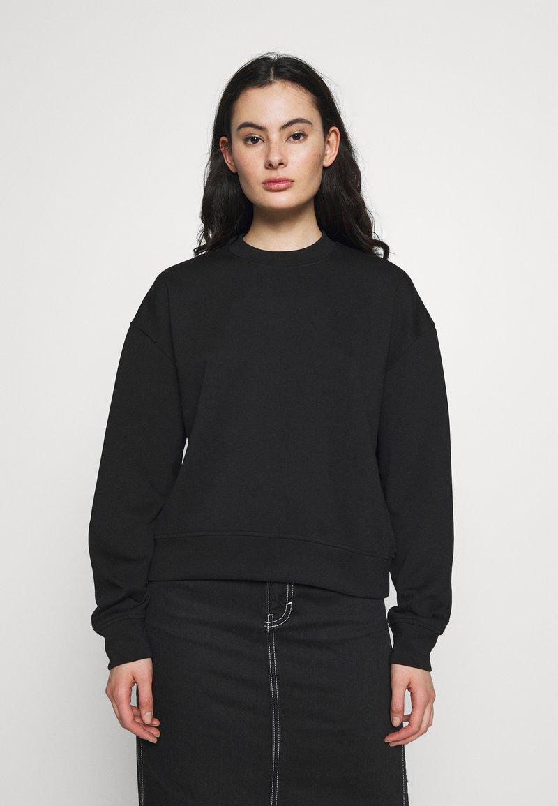 Samsøe Samsøe - KELSEY CREW NECK - Sweatshirt - black