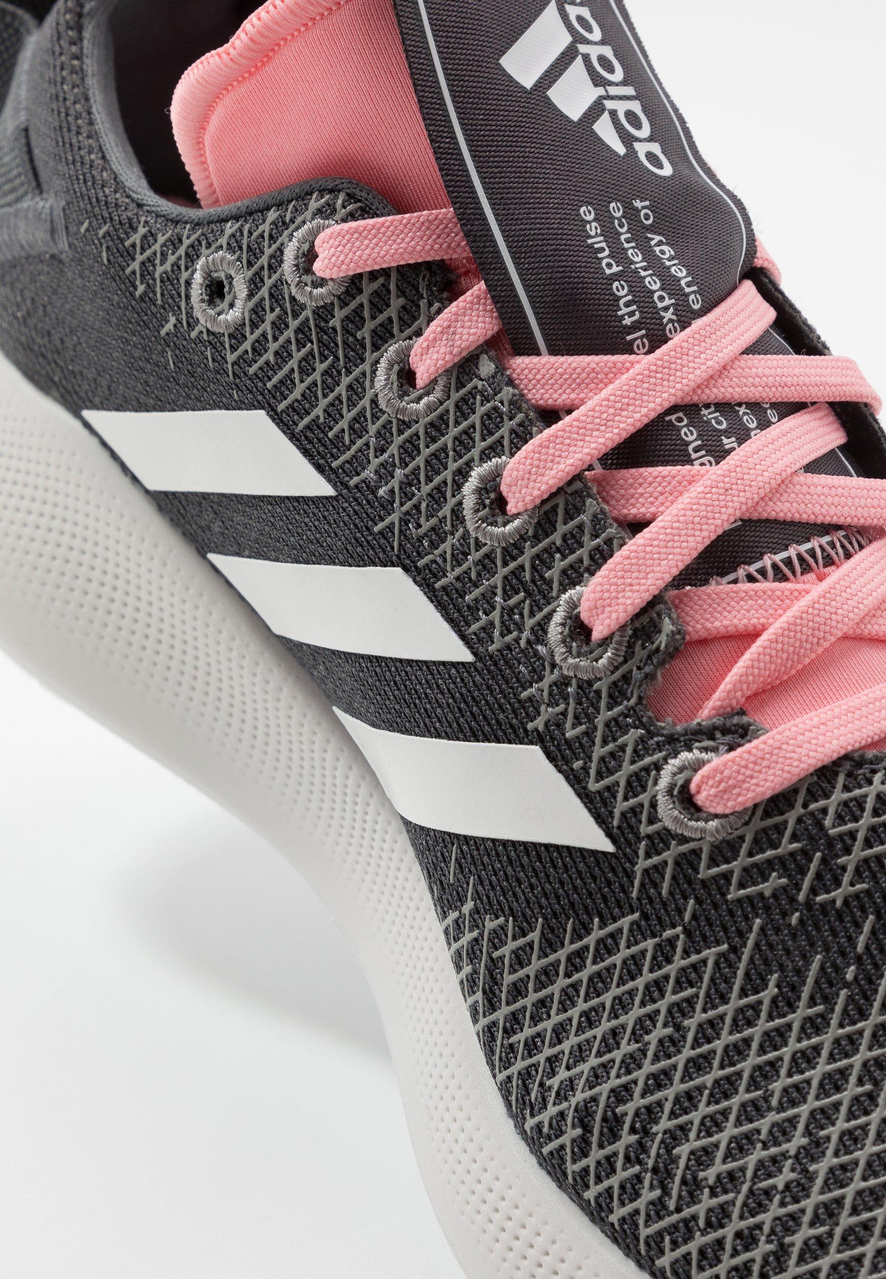 SENSEBOUNCE + STREET Neutrala löparskor grey fivevrystal whiteglow pink