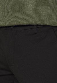 Redefined Rebel - PRINCE PANTS - Pantaloni - black - 3