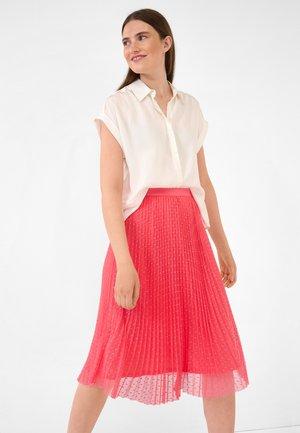 A-line skirt - calypso rot