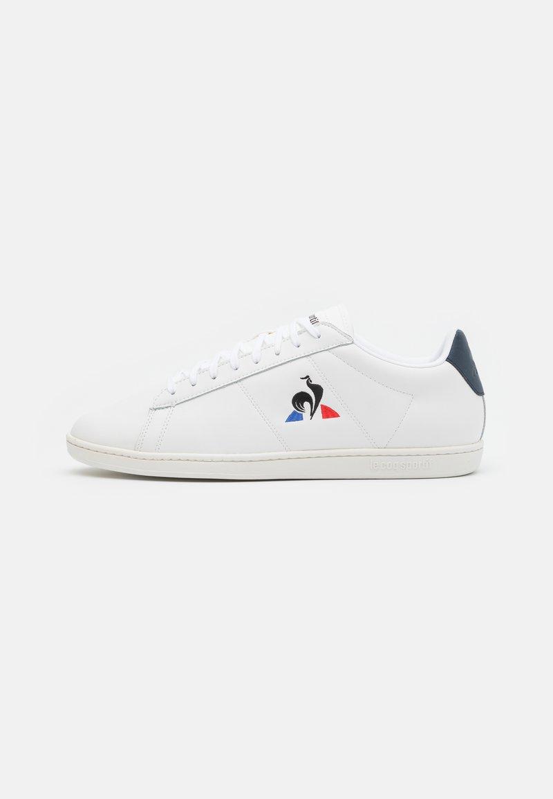 le coq sportif - COURTSET UNISEX - Trainers - optical white/dress blue