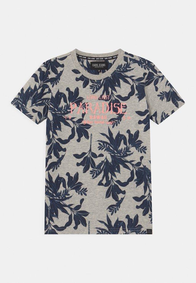 BOSSO - T-shirt print - navy