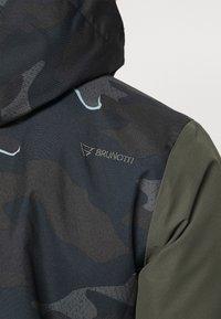 Brunotti - IDAHO MENS SNOWJACKET - Snowboardová bunda - cyber yellow - 6