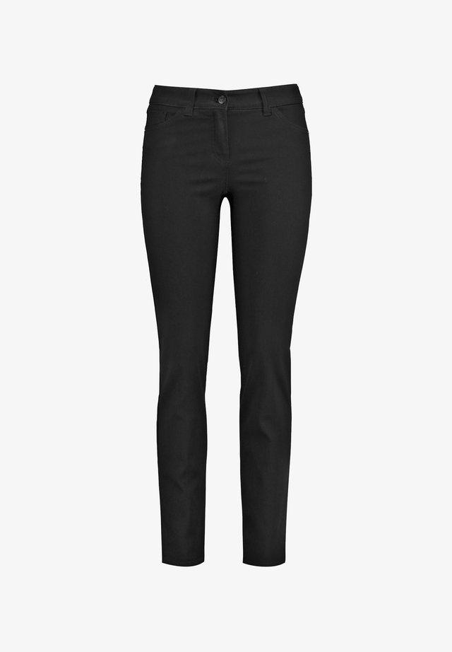 Slim fit jeans - black black denim