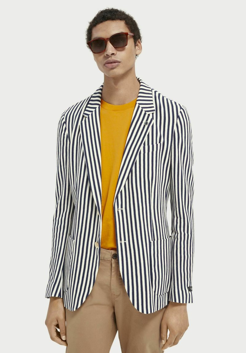 Scotch & Soda - Blazer jacket - white
