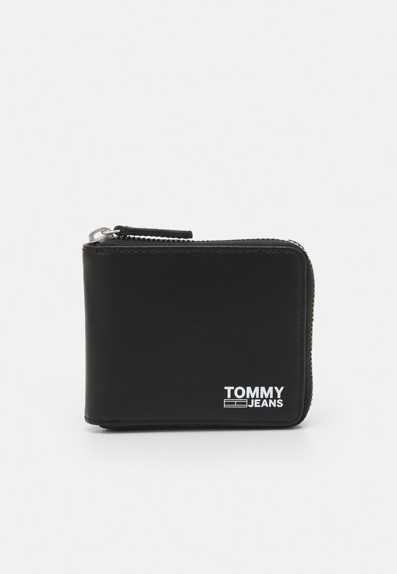 Tommy Jeans - ESSENTIAL WALLET UNISEX - Wallet - black