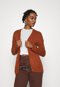 ONLY - ONLLEXI CARDIGAN - Cardigan - ginger bread - 0