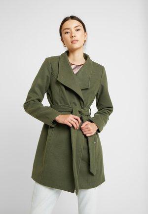 CIRLINE JACKET BELT - Classic coat - olive night