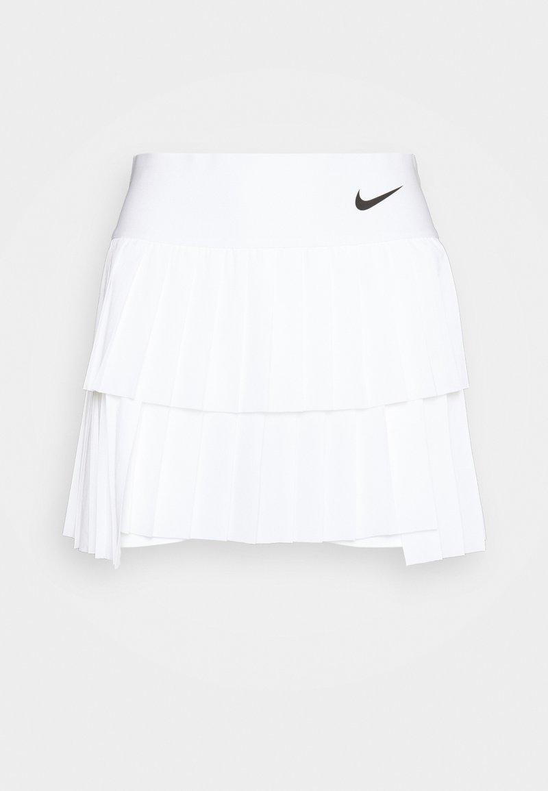 Nike Performance - SKIRT PLEATED - Gonna sportivo - white/black