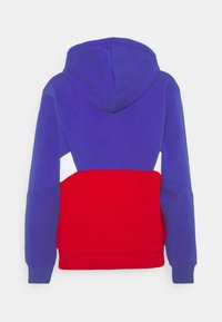 Fila - AMYA CROPPED HOODY - Sweatshirt - clematis blue/true red/bright white - 6