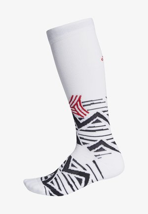 ALPHASKIN GRAPHIC CUSHIONED SOCKS - Calze sportive - white